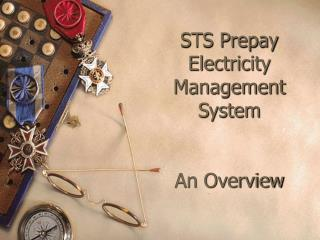STS Prepay Electricity Management System  An Overview