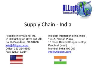 Supply Chain - India