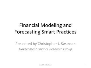Financial Modeling and Forecasting Smart Practices