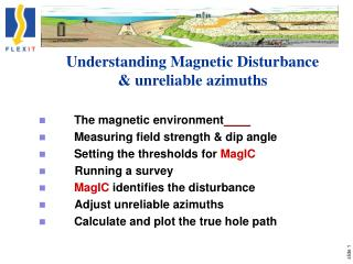 Understanding Magnetic Disturbance & unreliable azimuths