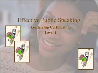 Effective Public Speaking