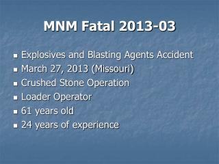 MNM Fatal 2013-03