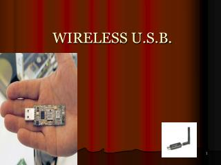 WIRELESS U.S.B.