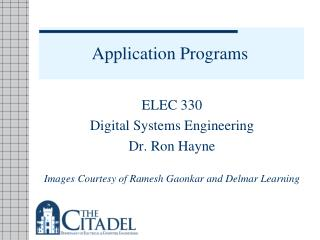 Application Programs