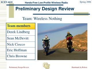 Team: Wireless Nothing