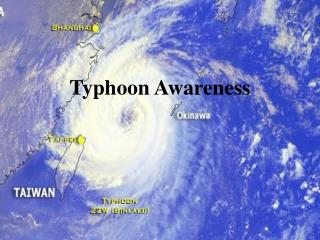 Typhoon Awareness