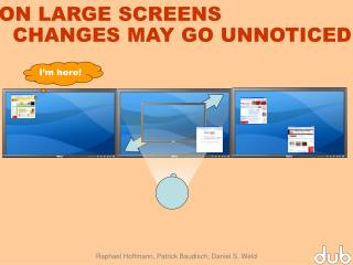 ON LARGE SCREENS