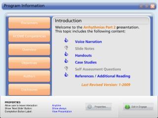 Program Information