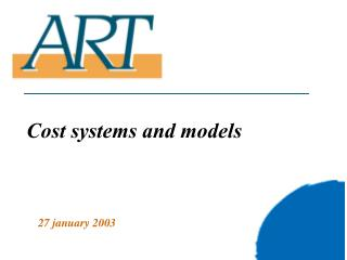 Cost systems and models