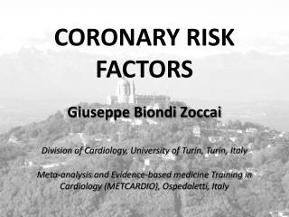CORONARY RISK FACTORS