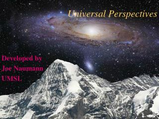 Universal Perspectives
