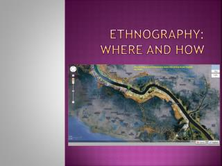 Ethnography: where and how