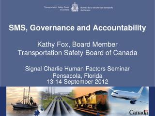 SMS, Governance and Accountability