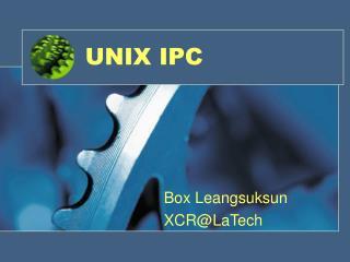 UNIX IPC