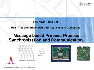 Process-to-process messages