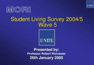 Student Living Survey 2004/5  Wave 5