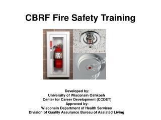 CBRF Fire Safety Training