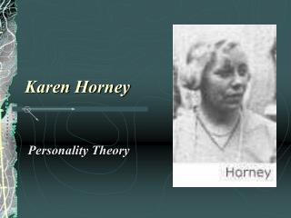 Karen Horney