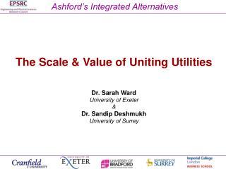Ashford's Integrated Alternatives