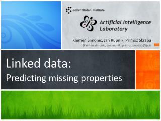 Linked data: P redicting missing properties