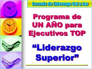Escuela de Liderazgo Sal  Luz