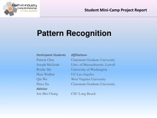 Student Mini-Camp Project Report