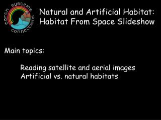 Natural and Artificial Habitat: Habitat From Space Slideshow