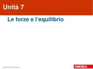 Unità 7
