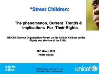 �Street Children:
