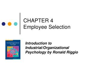 CHAPTER 4  Employee Selection