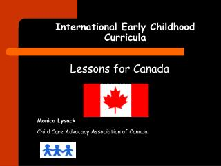 International Early Childhood Curricula