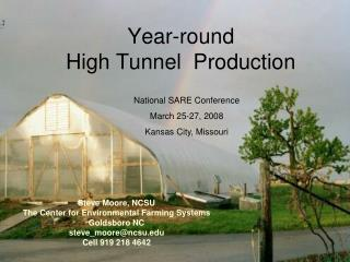 Year-round  High Tunnel  Production