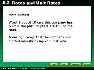 Math humor: