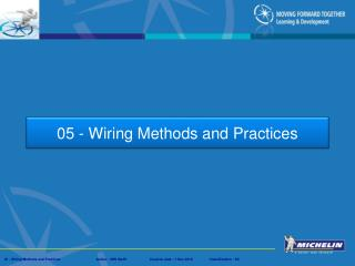 05 - Wiring Methods and Practices