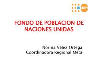 FONDO DE POBLACION DE NACIONES UNIDAS
