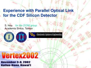 Experience with Parallel Optical Link for the CDF Silicon Detector