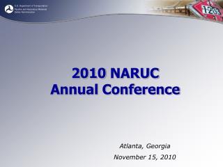 2010  NARUC Annual Conference