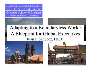 Adapting to a Boundaryless World: A Blueprint for Global Executives Juan I. Sanchez, Ph.D. .