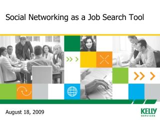 Social Networking as a Job Search Tool