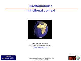 EuroBoundaries institutional context