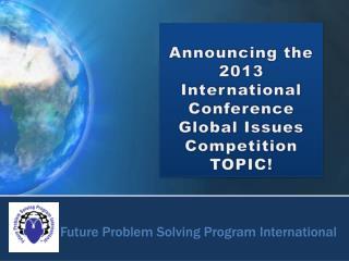 Future Problem Solving Program International