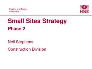 Small Sites Strategy Phase 2