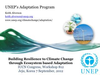 UNEP's Adaptation Program