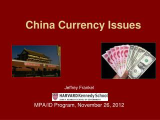 China Currency Issues