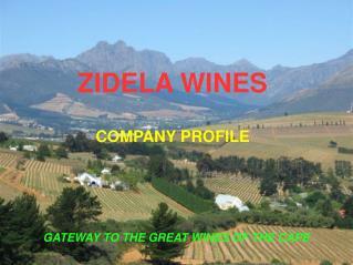 ZIDELA WINES