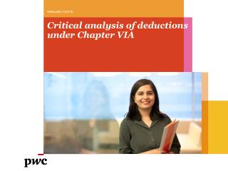 Critical analysis of deductions under Chapter VIA