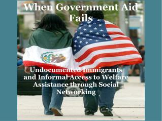 When Government Aid Fails