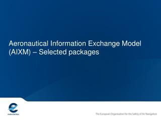 AIXM UML modelling - essentials