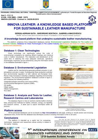 INNOVA LEATHER: A KNOWLEDGE BASED PLATFORM FOR SUSTAINABLE LEATHER MANUFACTURE