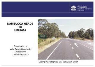 NAMBUCCA HEADS TO  URUNGA